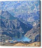 Colorado River View Acrylic Print