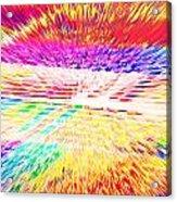 Colorburst Landscape Acrylic Print