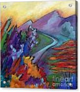 Colordance Acrylic Print