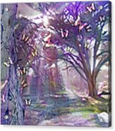Colored Forest Acrylic Print