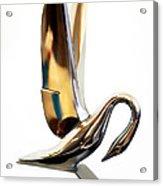 Colored Packard Hood Ornament Acrylic Print