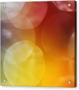 Colorful Abstract 7 Acrylic Print
