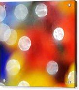 Colorful Abstract 8 Acrylic Print