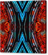 Colorful Abstract Art - Expanding Energy - By Sharon Cummings Acrylic Print