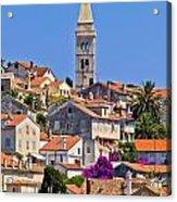 Colorful Adriatic Town Of Losinj Acrylic Print