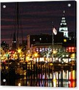 Colorful Annapolis Evening Acrylic Print