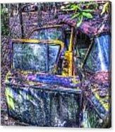 Colorful Antique Car 1 Acrylic Print