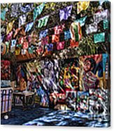 Colorful Art Store In Mexico Acrylic Print