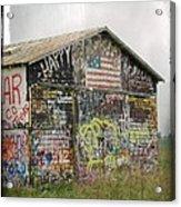 Colorful Barn Acrylic Print