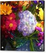 Colorful Bouquet Acrylic Print