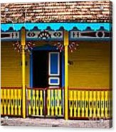 Colorful Building Acrylic Print