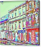 Colorful Buildings Acrylic Print