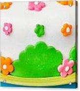 Colorful Cake Acrylic Print