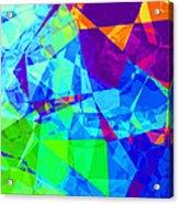 Colorful Chaos Acrylic Print