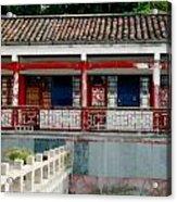 Colorful China Acrylic Print