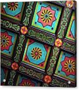 Colorful Church Ceiling Acrylic Print