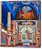 Colorful Church Acrylic Print