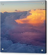Colorful Cloud Acrylic Print by Brian Jannsen