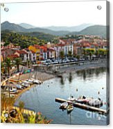 Colorful Collioure Acrylic Print