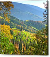 Colorful Colorado Acrylic Print