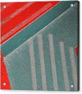 Colorful Concrete Steps Acrylic Print