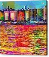 Colorful Coney Island Acrylic Print