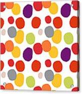 Colorful Confetti  Acrylic Print