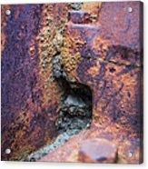 Colorful Corrosion 2 Acrylic Print