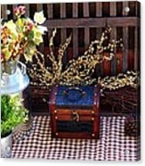 Colorful Country Still Life Acrylic Print
