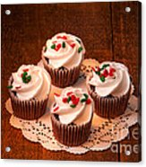 Colorful Cupcakes Acrylic Print