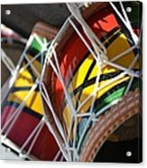 Colorful Drums Acrylic Print
