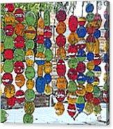 Colorful Fishing Floats Acrylic Print