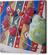 Colorful Fruit Acrylic Print