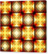 Colorful Geometric Collage Acrylic Print