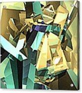 Colorful Geometric Shapes Acrylic Print