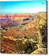 Colorful Grand Canyon Acrylic Print