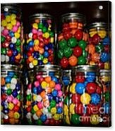 Colorful Gumballs Acrylic Print by Paul Ward