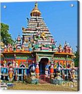 Colorful Hindu Temple Acrylic Print
