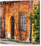 Colorful Houses In Warsaw Acrylic Print