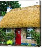 Colorful Irish Cottage Acrylic Print