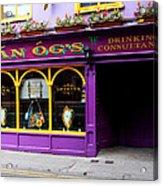 Colorful Irish Pub Acrylic Print