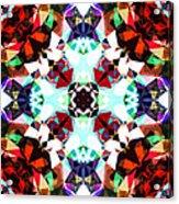 Colorful Kaleidoscope Creation Acrylic Print