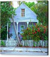 Colorful Key West Cottage Acrylic Print