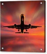 Colorful Landing. Acrylic Print