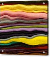 Colorful Layers Acrylic Print