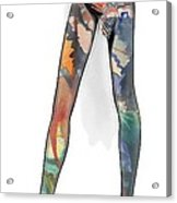 Colorful Legs Acrylic Print