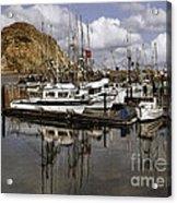 Colorful Morning Harbor Acrylic Print