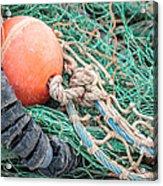 Colorful Nautical Rope Acrylic Print
