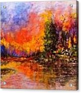 Colorful Night.. Acrylic Print