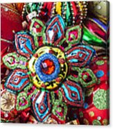 Colorful Ornaments Acrylic Print